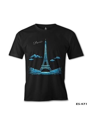 Lord Tshirt Parisian Siyah Erkek Tshirt Siyah